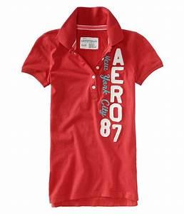 Aeropostale Womens Aero 87 Polo Shirt | eBay