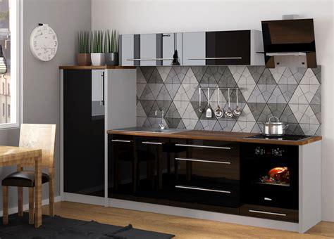 Küche Mit Marmorplatte by K 252 Chenzeile K 252 Che 260cm Grau Schwarz Hochglanz Neu