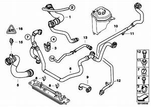 Original Parts For E70 X5 3 0si N52n Sav    Radiator   Cooling System Water Hoses