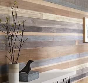 Planche De Bois Pour Mur Intérieur : le lambris transforme les murs leroy merlin ~ Zukunftsfamilie.com Idées de Décoration