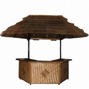 Laguna large bamboo bar patio furniture tropical 2401 for Tropical home bar furniture