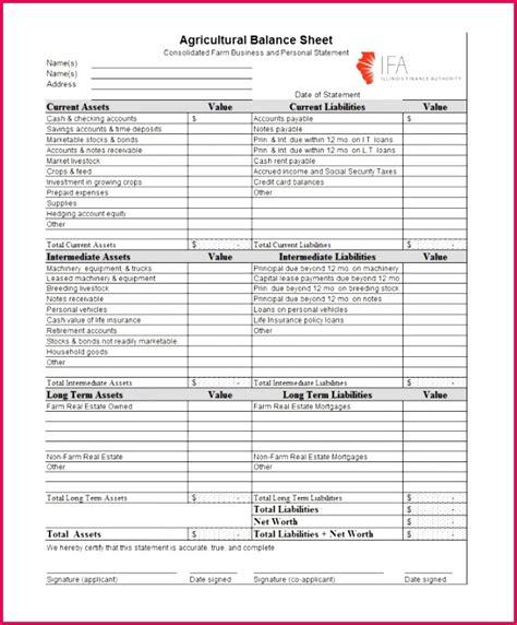 projected balance sheet template excel  fabtemplatez