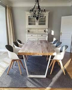 Esstisch Modern Design : betontisch esstisch modern massiv holz auf beton nach ma holzwerk hamburg wohnzimmer ~ Eleganceandgraceweddings.com Haus und Dekorationen