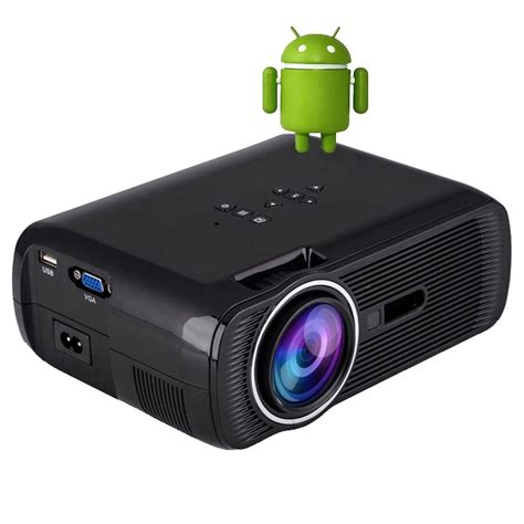 how to connect android phone to projector wzatco android 4 4 led mini projector home theater