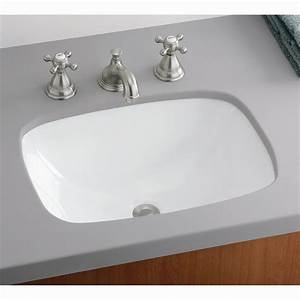 Cheviot 1116 wh ibiza undermount basin under mount for Undermount bathroom sinks