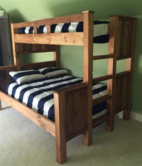 Bunk Bed by Pallet Bunk Bed Plans Recycled Things