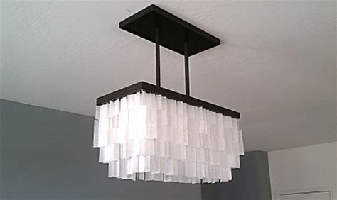 remodelaholic diy drum shade chandelier