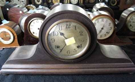 New Haven Clock Company Tambour Mantle Clock Price Guide
