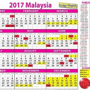 Kalendar Cuti Umum Dan Cuti Sekolah Malaysia 2017