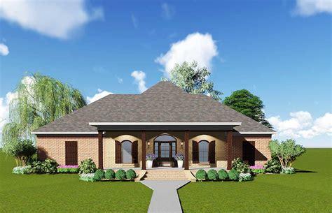acadian house plan  safe room jw