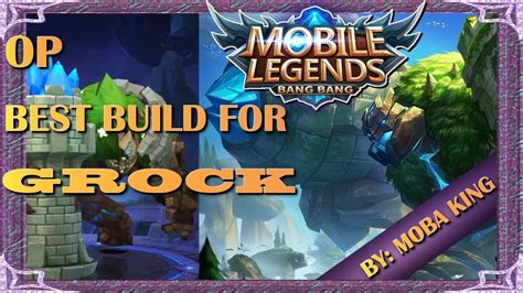 Mobile Legends Best Build For Grock