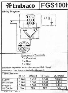 Upright Freezer Compressor Wiring Diagram
