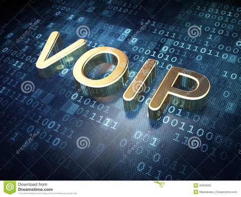 web design concept golden voip  digital background