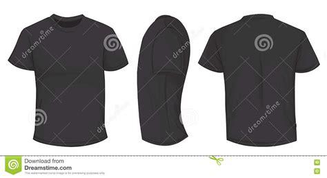 black shirt template stock illustration illustration