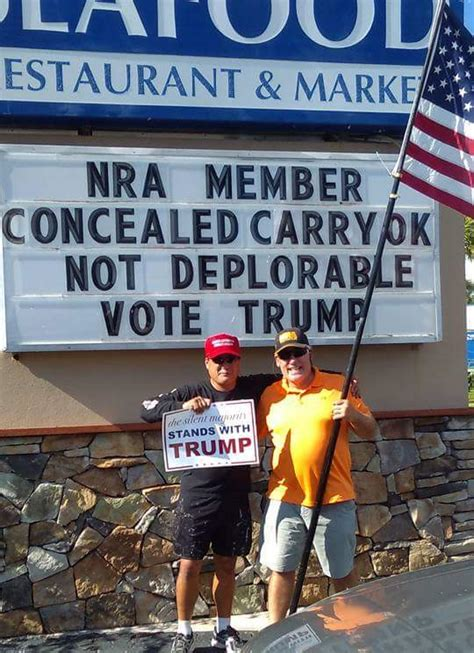 Hillary Supporters Deplorable Trump