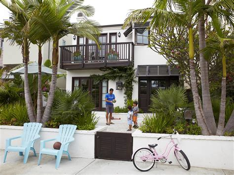 california family friendly beach house interior