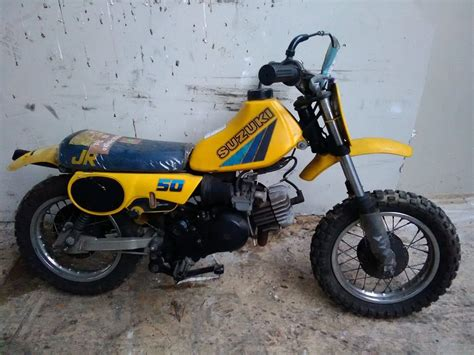 50cc Suzuki by Suzuki Jr50rd Junior 50cc 1983 Unit 5 Motos