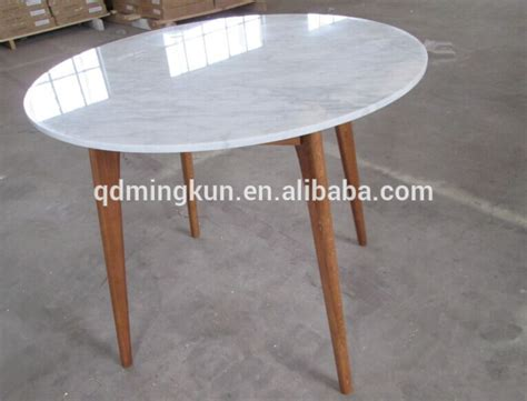 marble glass dining table wooden leg and marble top round wood dining table buy