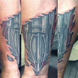 Terminator Arm by Cat Johnson: TattooNOW