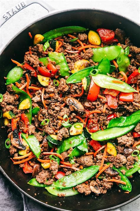 I used stawberry jello instead. Korean Ground Beef Stir Fry | The Recipe Critic | Ground beef recipes healthy, Healthy ground ...