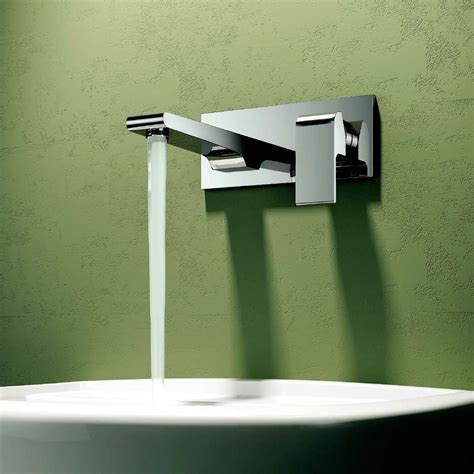 bathroom cool wall mounted faucet  elegant bathroom