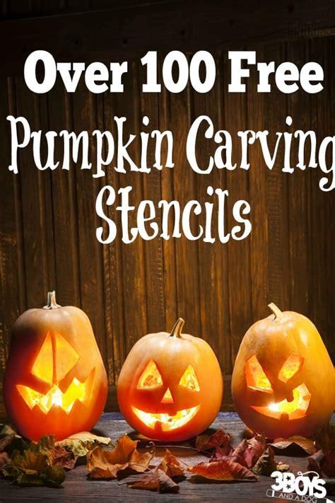 printable pumpkin carving patterns  boys   dog