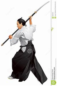 Naginatajutsu, Japanese Samurai Martial Arts Maste Stock ...