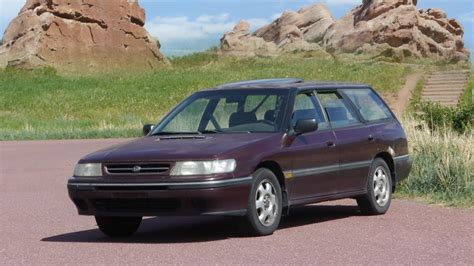 where to buy car manuals 1993 subaru legacy interior lighting 1993 subaru legacy wagon turbo review before engine pull youtube
