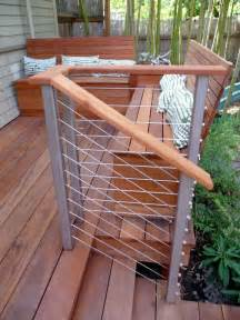 contemporary deck with fence by birdsmouth construction zillow digs
