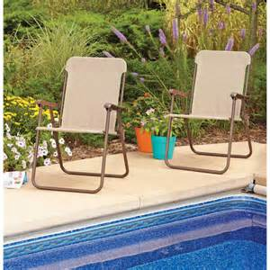 mainstays folding chairs set of 2 multiple colors