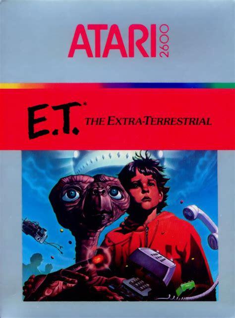Et Atari 2600 Box Art Et Geekera
