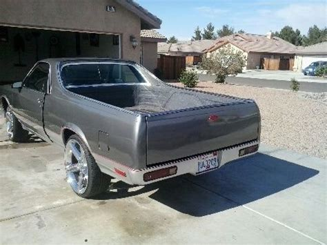 Purchase Used 1982 Chevrolet Chevy El Camino In Adelanto