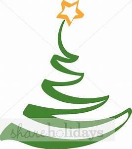 Christmas Tree Contemporary | Christmas Tree Clipart