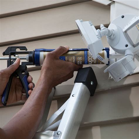 install exterior light without junction box install motion lights