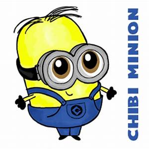 How to Draw Chibi Baby Minions with Easy Step by Step ...