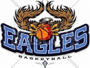 Eagles Basketball Logo Vector Team Logo