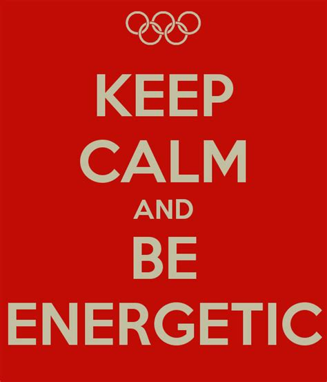 keep calm and be energetic omg top tens list