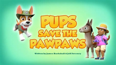 pups save  pawpaws paw patrol wiki fandom powered