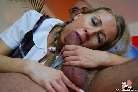 british Slut Dressed As A schoolgirl Gets Fucked By Jim Suzi S porn