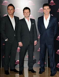 Declan Donnelly in Simon Cowell at the Launch of 'Red or ...