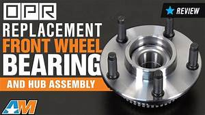 1994-2004 Mustang Replacement Front Wheel Bearing And Hub Assembly W   Abs Ring Review
