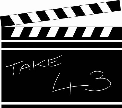 Clapboard Clipart Illustration Clapperboard Clip Title Library