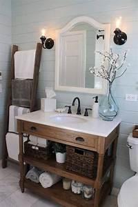 amenagement salle de bain meuble salle de bain rustique With meuble salle de bain rustique