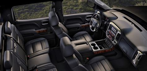 gmc sierra  interior pickuptruckcom