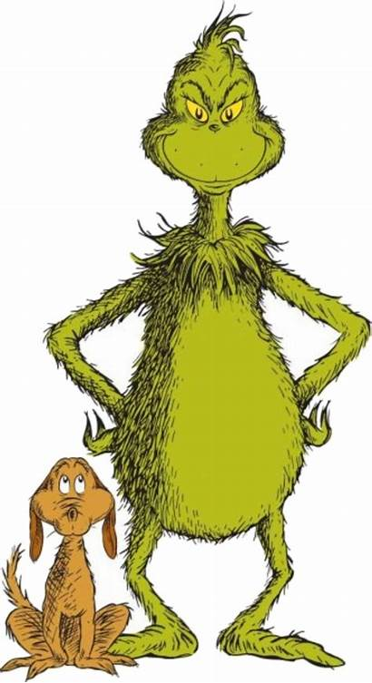 Grinch Clipart Clip Happy Stole Outline Holding