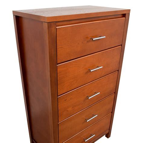 Buy Dresser by 43 Wood Five Drawer Dresser Storage