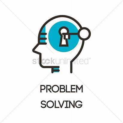 Problem Solving Icon Vector Vectors Illustration Psychology