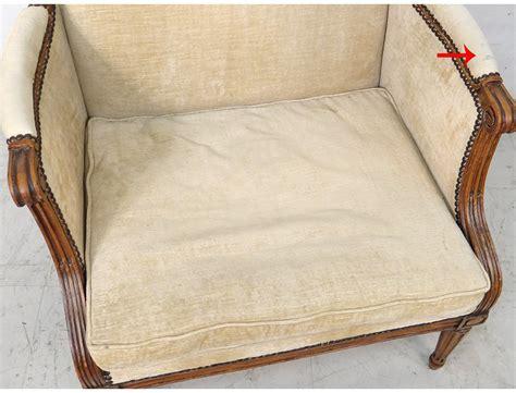 marquise louis xvi fauteuil h 234 tre teint 233 sculpt 233 pieds