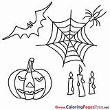 Halloween Colouring Feast Coloring Pages Sheet Title Coloringpagesfree sketch template