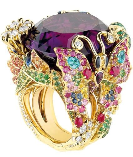 Jewel Worthydior Ring By Victoire De Castellane  Haute Tramp
